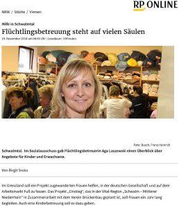 """RP-Beitrag über Projekt """"Einstieg"""""""